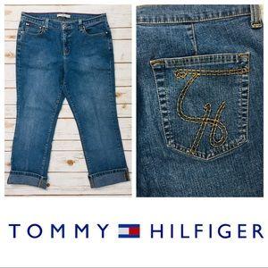 Vintage Tommy Hilfiger Mom Capri/Ankle Jeans SZ 12